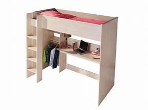 Lit En Hauteur Conforama : les plus beaux lits mezzanines pour prendre de la hauteur et gagner de la place elle ~ Farleysfitness.com Idées de Décoration