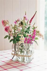 Deko Vasen Mit Blumen : deko blumen 34 ideen wie sie mit blumen dekorieren vir gok pinterest blumendeko vasen ~ Markanthonyermac.com Haus und Dekorationen