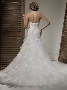 beautiful photos of organza fit and flare wedding dresses With fit and flare wedding dresses