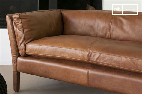 canape cuir vintage types of sofas image gallery sofa construction