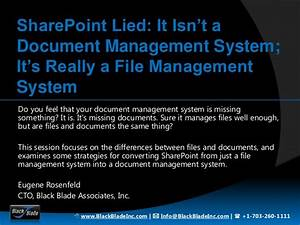 sharepoint lied it isnt a document management system it With sharepoint document management training