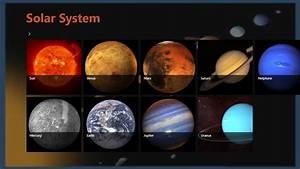 Nine Planet 3D Solar System - Pics about space