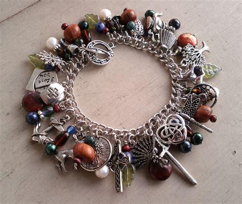 quilt list outlander series charm bracelet