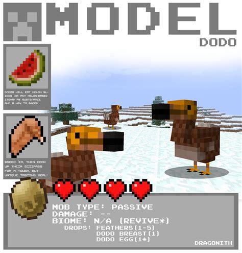 minecraft dodo  dragonith  deviantart