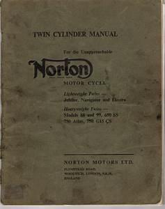 Early Norton Wiring Diagrams