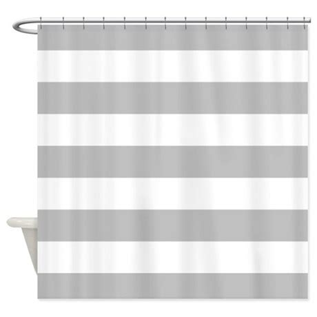 white and gray striped curtains grey and white stripe shower curtain by inspirationzstore