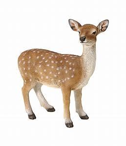 Tierfiguren Aus Kunststoff : dehner polyresin reh stehend dehner ~ Yasmunasinghe.com Haus und Dekorationen