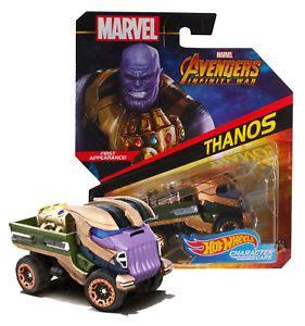 Hot Wheels Marvel Thanos Avengers Infinity War Character