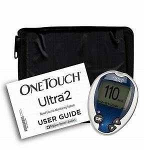 One Touch Ultra 2 Meter  Manual And Generic Case