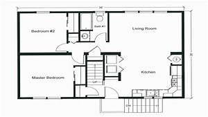 2 bedroom open floor plan house savaeorg With small apartment floor plan collection