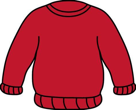Red Sweater Clip Art