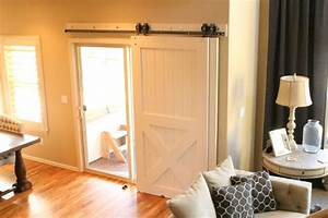 barn doors for patio slider the house of silver lining With barn door to cover sliding glass door