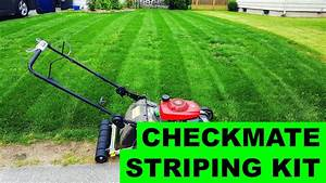 Checkmate Striping Kit - Installation    First Use