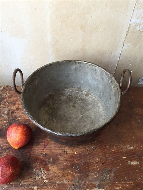 antique copper cooking pot omero home
