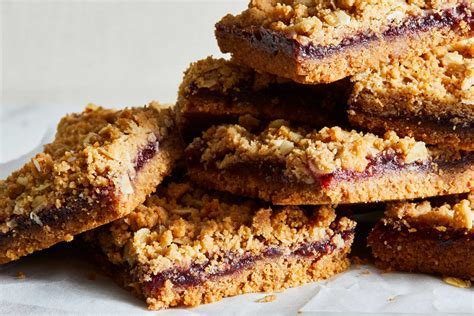 raspberry nutter butter bars recipe nyt cooking