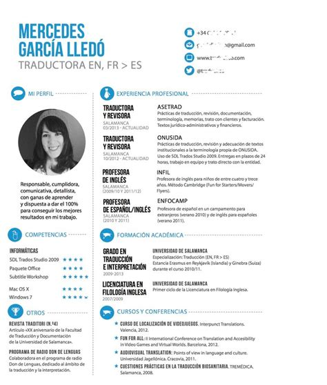 Ideal Cv Template by Propuesta Para Tu Cv Ideal Cv Template