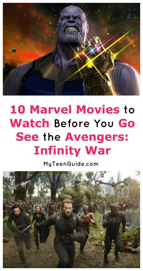Marvel Movies Like Avengers Infinity War Watch Now