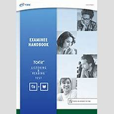 Toeic Listening And Reading Test Preparation Resources (for Organizations