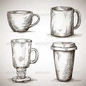 Set of Coffee Mugs | GraphicRiver