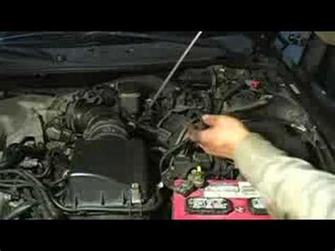 change transmission fluid locating oil pan