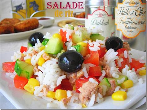 cuisine tunisienne ramadan salade de riz facile le cuisine de samar