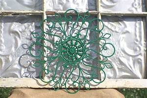 the best material wrought iron wall decor joanne russo With what kind of paint to use on kitchen cabinets for copper sun outdoor wall art
