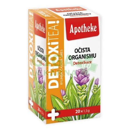 Apotheke DetoxiTea Očista organismu čaj 20x1.5g ...