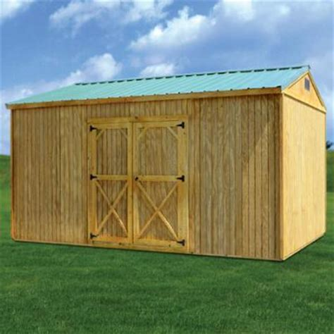 Derksen Portable Buildings Side Utility