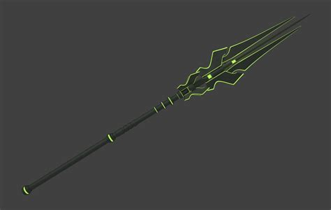Scifi Spear By Ahkai On Deviantart