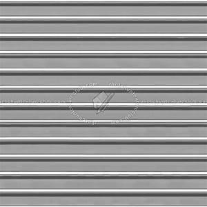 Brushed aluminium corrugated steel texture seamless 09919