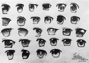 Anime Girl's Eyes by Napi-Piponpon on DeviantArt