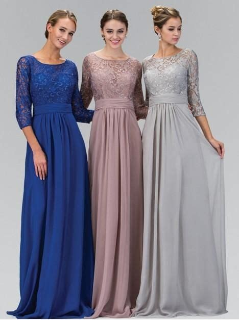 modest wedding dresses seattle 2016 a line silver gray modest chiffon lace