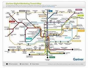 Gartner's mind blowing digital marketing transit map Chief Marketing Technologist