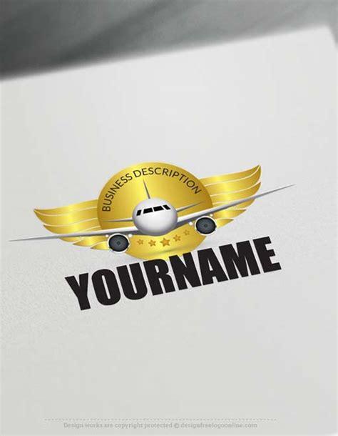 logo maker aircraft logo design