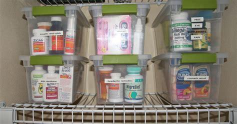 Smart And Simple Organizing Organized Medicine Cabinet