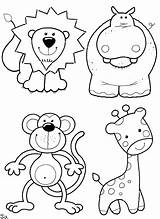Coloring Animals Pages sketch template