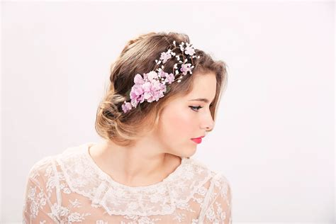 Wedding Accessories For Girls : Wedding Accessories Bridal Flower Crown Wedding Headpiece
