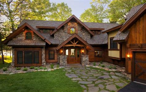 Rustic Home Exterior Design by Gull Lake S Gold Coast Crown 2 250 000