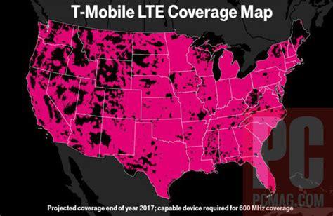 T Mobile Netzabdeckung Karte