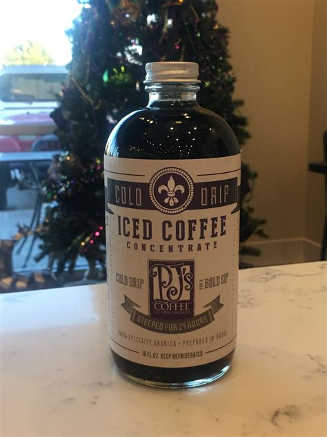 Customize by adding your favorite flavor, such as vanilla. Pin by Brandy Craft on PJ's Coffee of New Orleans (My Coffee Shop) in 2020 | Iced coffee ...