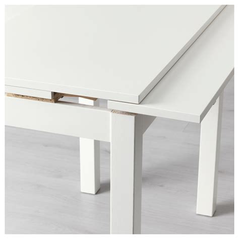 ikea white dining table bjursta extendable table white 50 70 90x90 cm ikea
