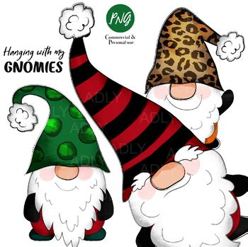 Totally free christmas design resources to help create the perfect holiday including clip art, backgrounds, fonts, borders, images and more. Gnome Christmas Sublimation clip art, hanging with my ...