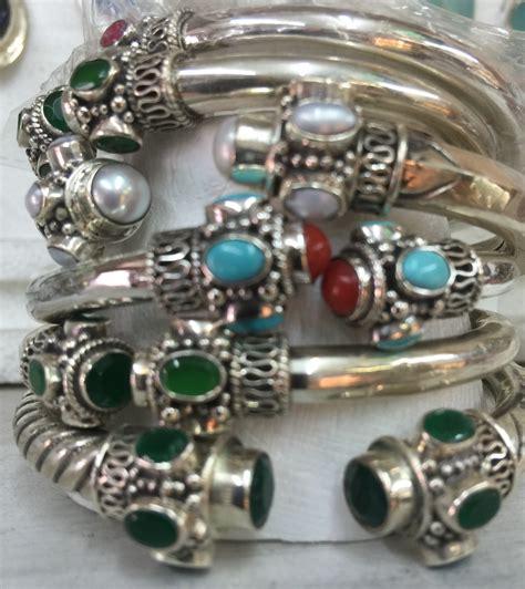 silver crystal jewellery