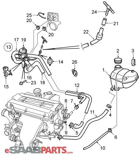 Saab Check Valve Parts From Esaabparts