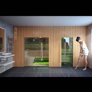 Sauna Nach Maß : luxus sauna kombination dream ii optirelax ~ Whattoseeinmadrid.com Haus und Dekorationen