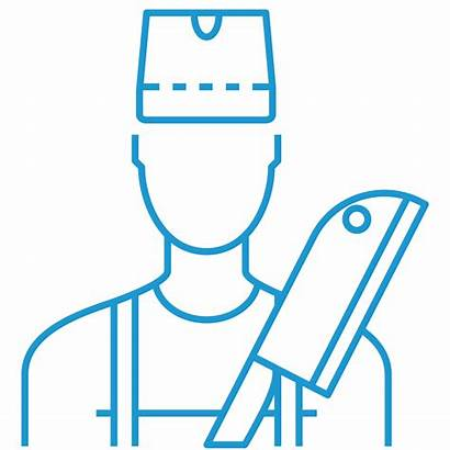 Refrigerated Containers Butchers Container Icon