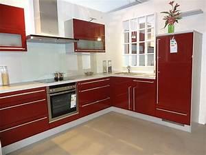 Küche In Rot : nobilia musterk che nobilia l k che in uni bordeaux rot ausstellungsk che in westhausen von der ~ Frokenaadalensverden.com Haus und Dekorationen