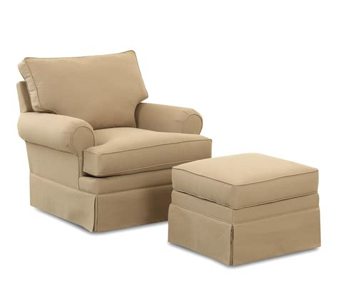 chair and ottoman sets klaussner chairs and accents carolina glider chair with