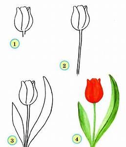 Comment Faire Une Rose En Papier Facilement : fleur facile a dessiner tous pour un ~ Nature-et-papiers.com Idées de Décoration