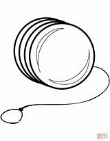 Yo Coloring Pages Yoyo Printable Clipart Toy Ipad Drawing Crafts Clipartmag sketch template